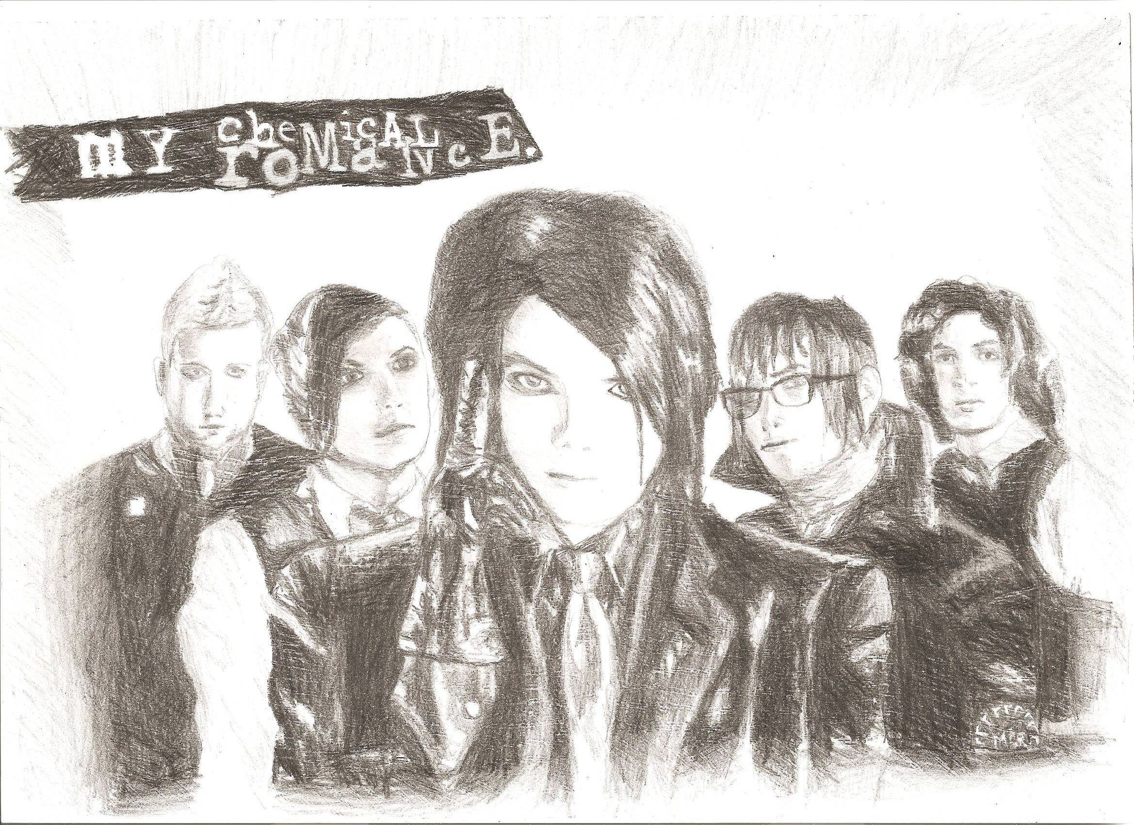 my chemical romance fanart 2594 by worthlesscreature