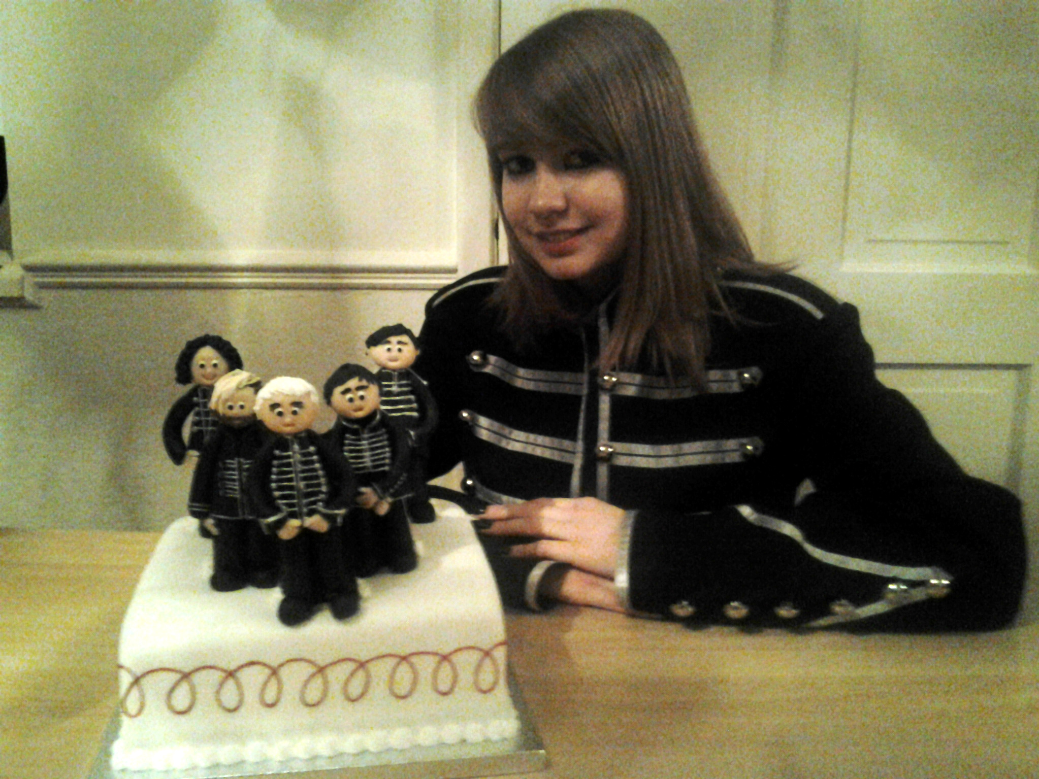 My Chemical Romance Birthday Cake
